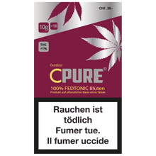 Laden Sie das Bild in den Galerie-Viewer, CPure FedTonic Blüten Outdoor 5g - CBD Discounter