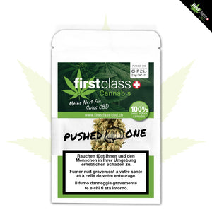 Pushed One Indoor 2g mit bis zu 23% CBD - CBD Discounter