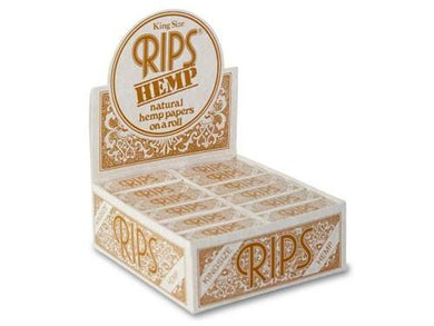 Rips Hemp King Size Rolls (24) - CBD Discounter