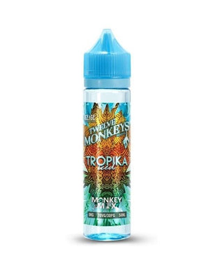 Twelve Monkeys Liquid 50ml Tropika Iced 0mg - CBD Discounter