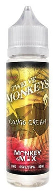 Twelve Monkeys Liquid 50ml Congo Cream 0mg - CBD Discounter