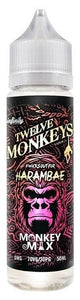 Twelve Monkeys Liquid 50ml Harambae 0mg - CBD Discounter