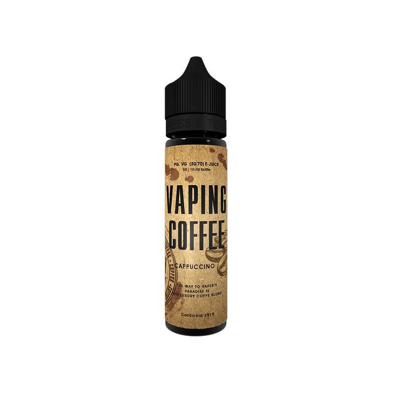VOVAN Liquid 50ml Vaping Coffee Cappucino - CBD Discounter