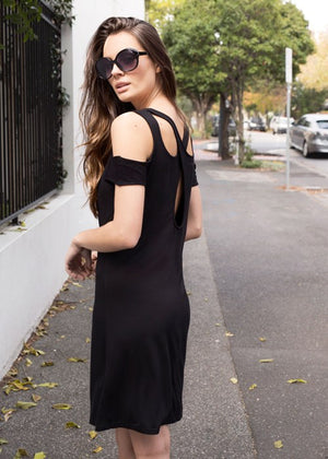 ALBA BLACK DRESS