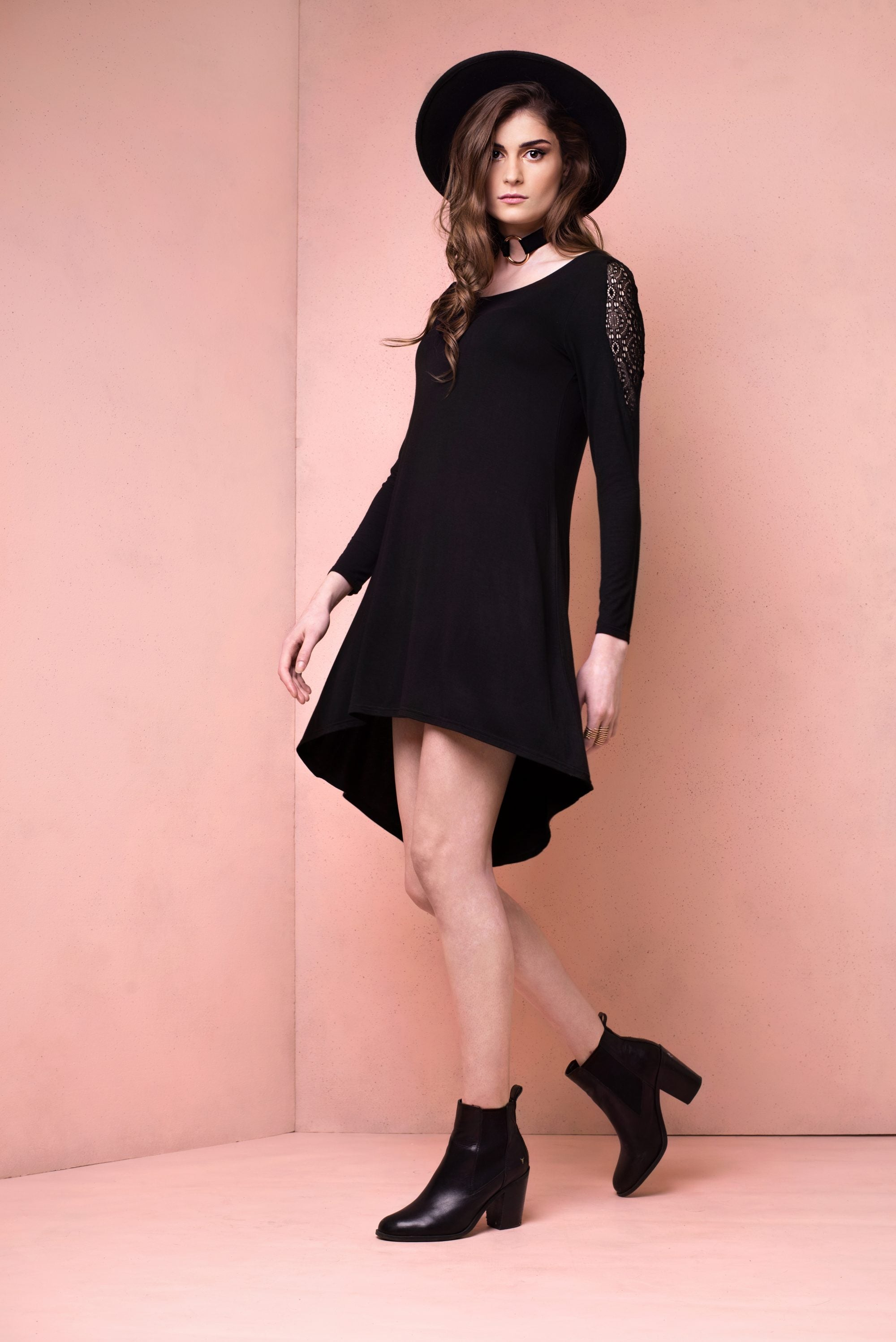 Isabel Jersey Swing Dress