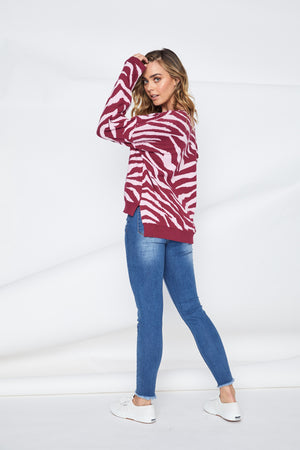 TIGRE ANIMAL KNIT