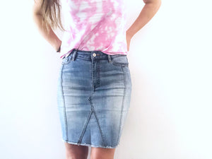 OLIVIA DENIM SKIRT