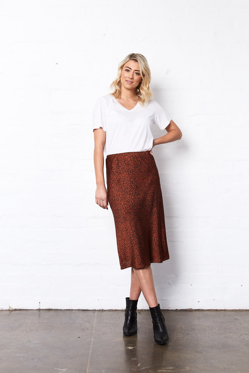 BELLA MIDI SKIRT