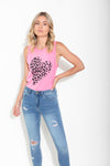 CHEETAH LOVE TANK