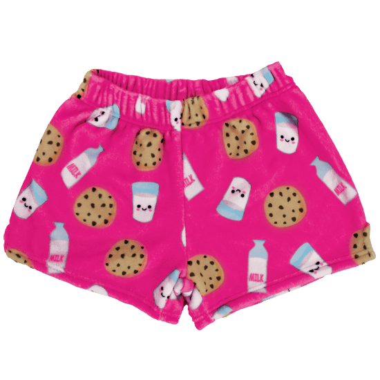 Milk and Cookies Plush Shorts