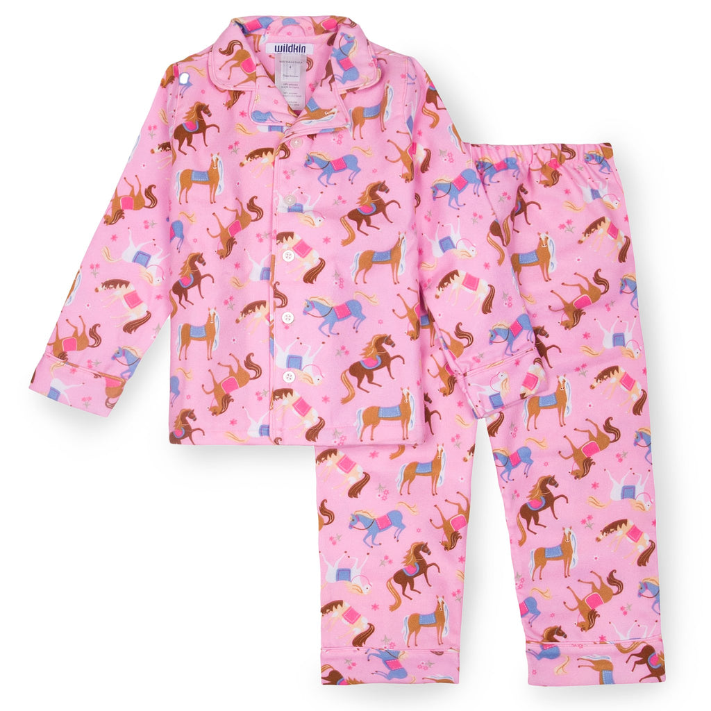 Girls Horse Flannel PJs