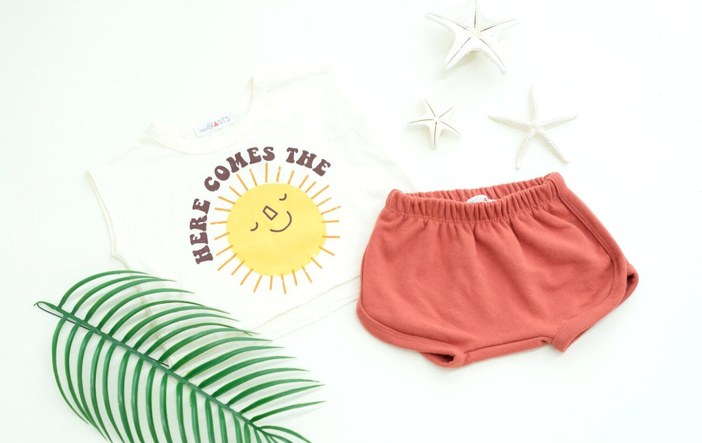 Solid Brick Retro Short
