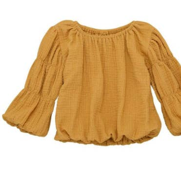 Lima Long Sleeve Top /Mustard