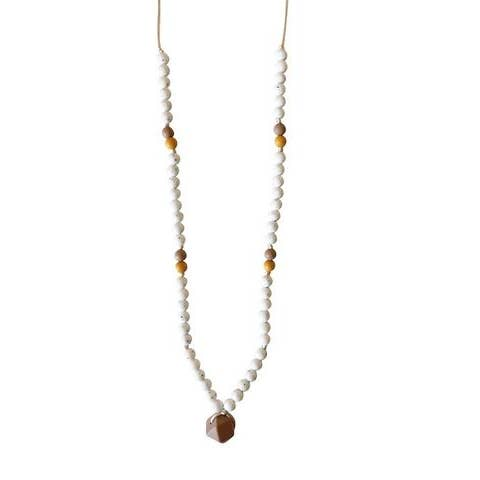 The Sheppard Moonstone Teething Necklace