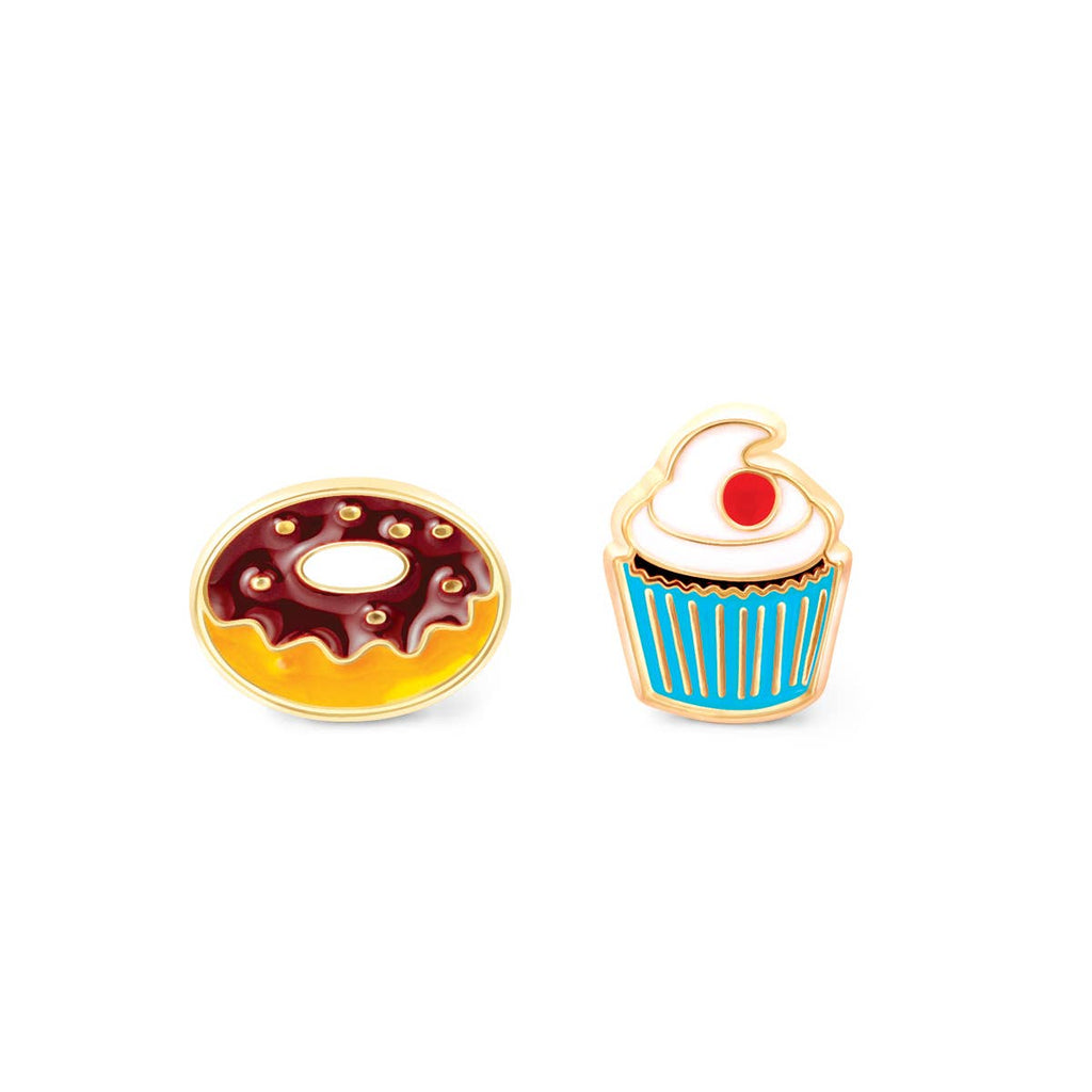 Cutie Enamel Stud Earrings/Sugar Rush
