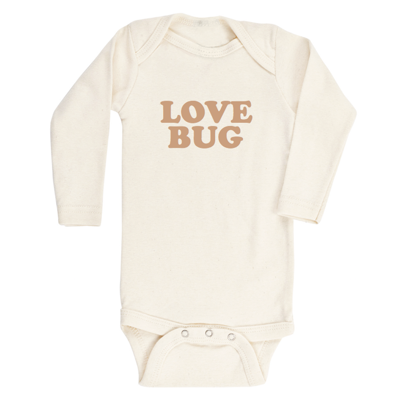 Love Bug Bodysuit (Clay)