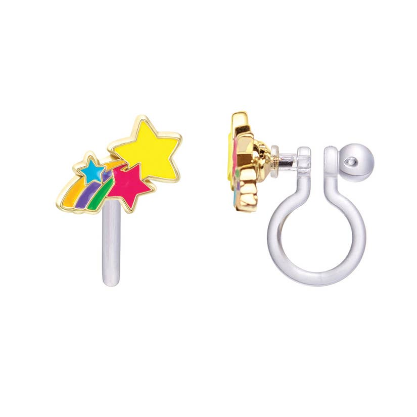 Cutie Clip-On Earring/Shooting Stars