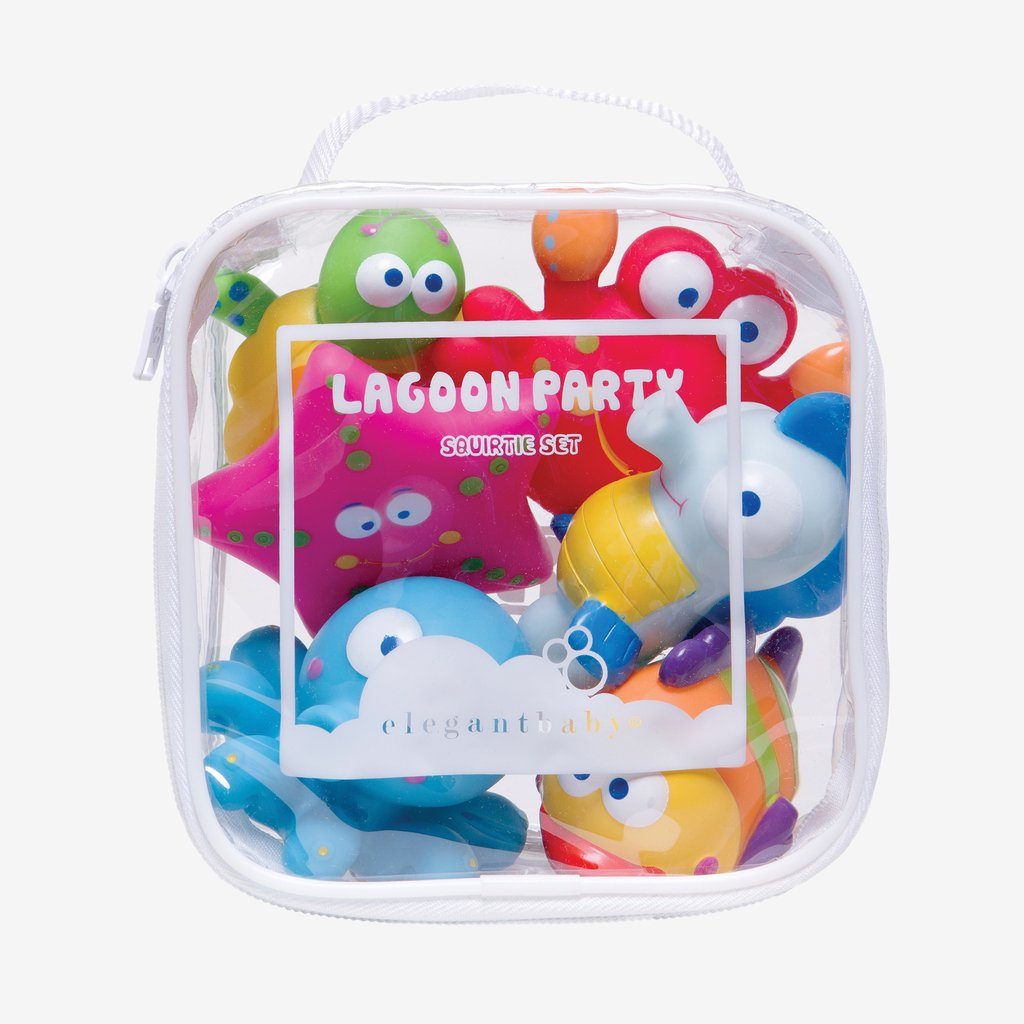 Lagoon Party Squirtie Toy