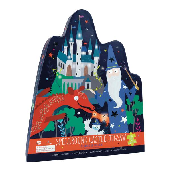 40PC. Spellbound Castle Jigsaw