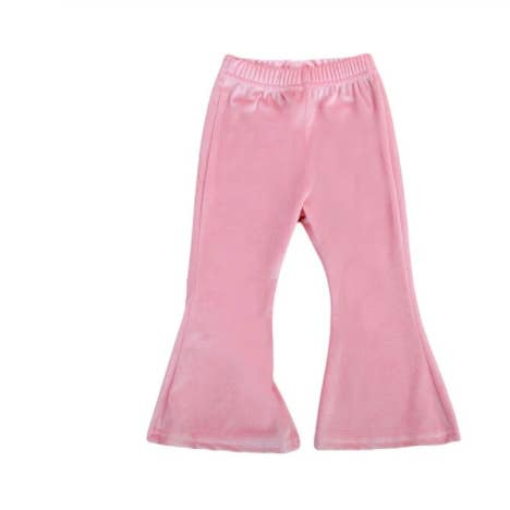 Loidis Velvet Bell bottom/Pink