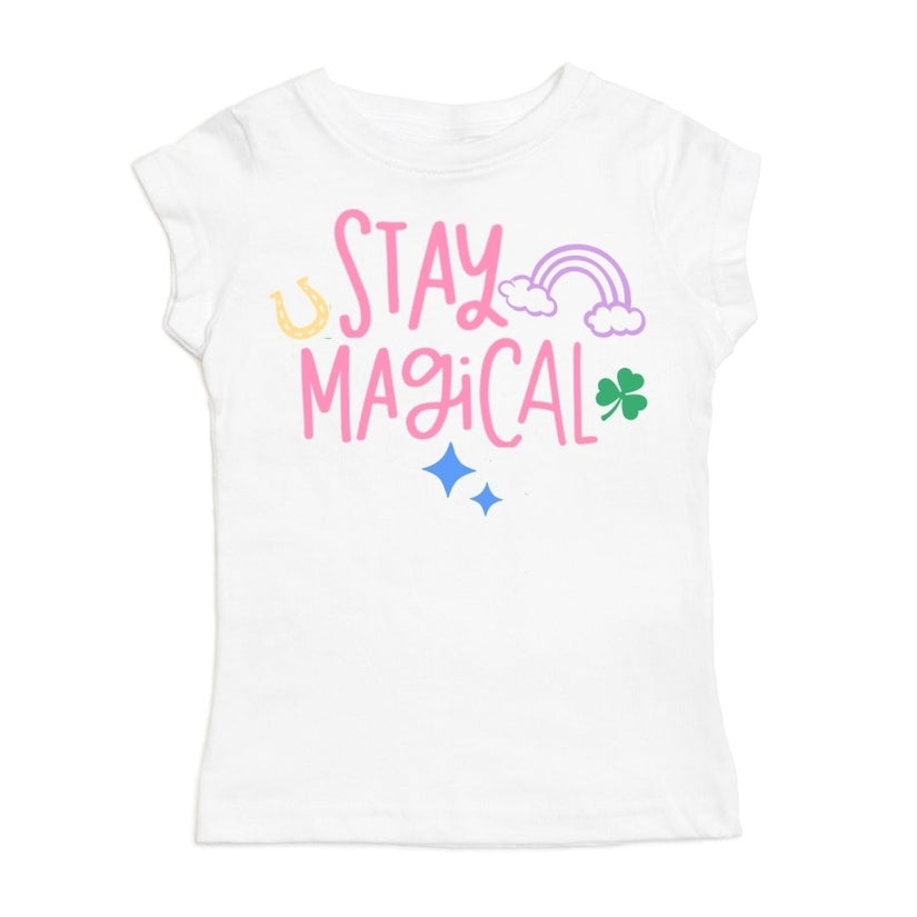 Stay Magical Short Sleeve St. Patricks day