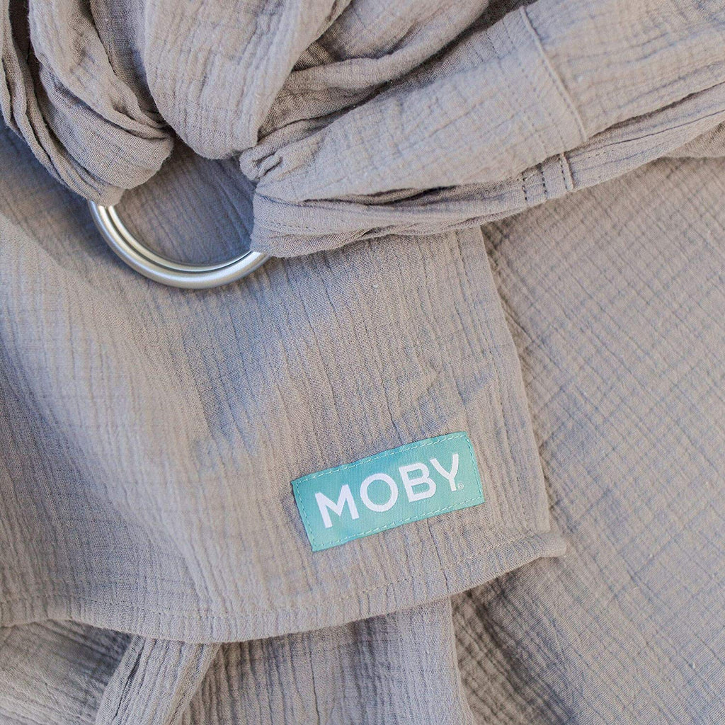 Moby Sling -Double Gauze -Pewter