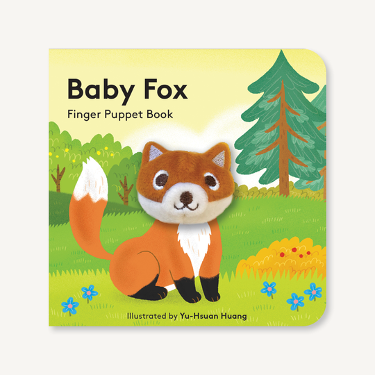 Finger Puppet Book-Baby Fox