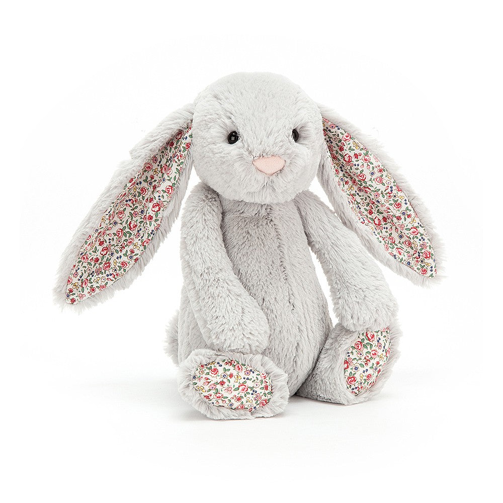 Blossom Bashful Silver Bunny- Medium