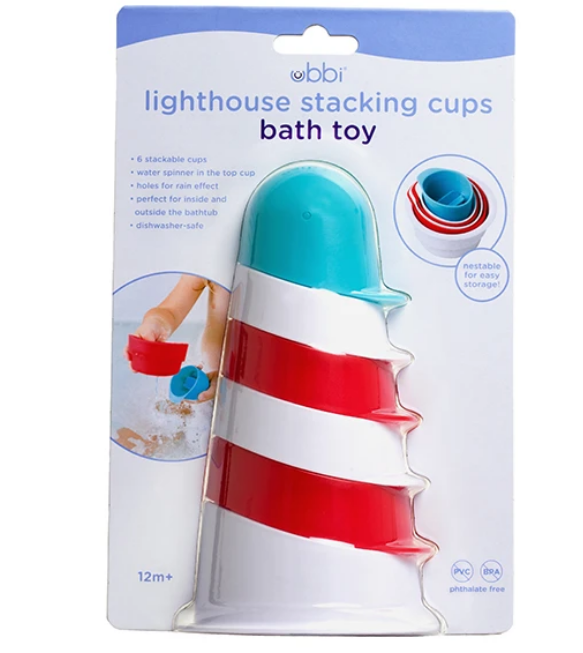 Lighthouse Stacking Bath Toy