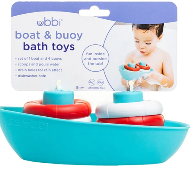 Boat & Buoys Bath Toy