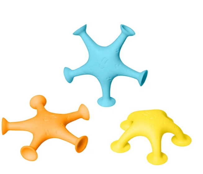 Starfish Suction Bath Toys