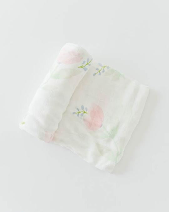 Single Swaddle/Peony