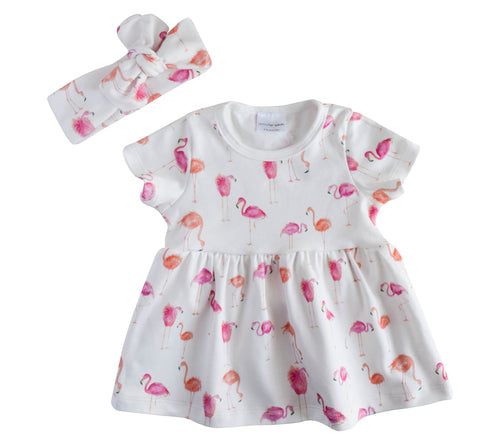 Baby Flamingo Dress
