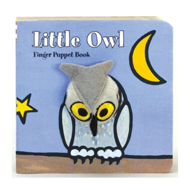 Finger Puppet Book - Little Owl