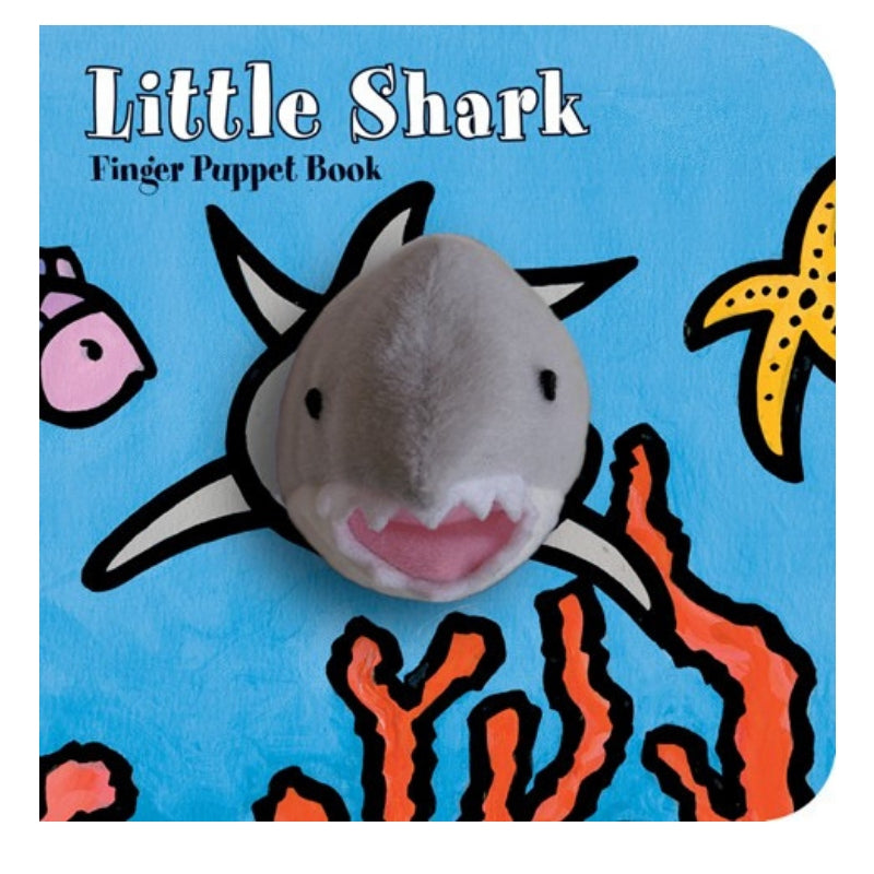 Finger Puppet Book - Little Shark