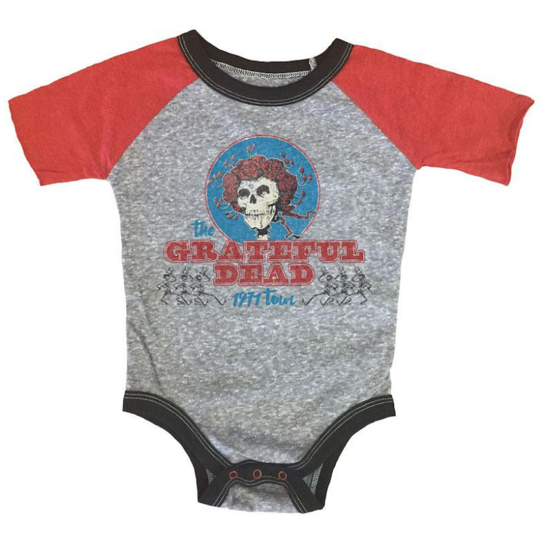 Grateful Dead Short Sleeve Onesie