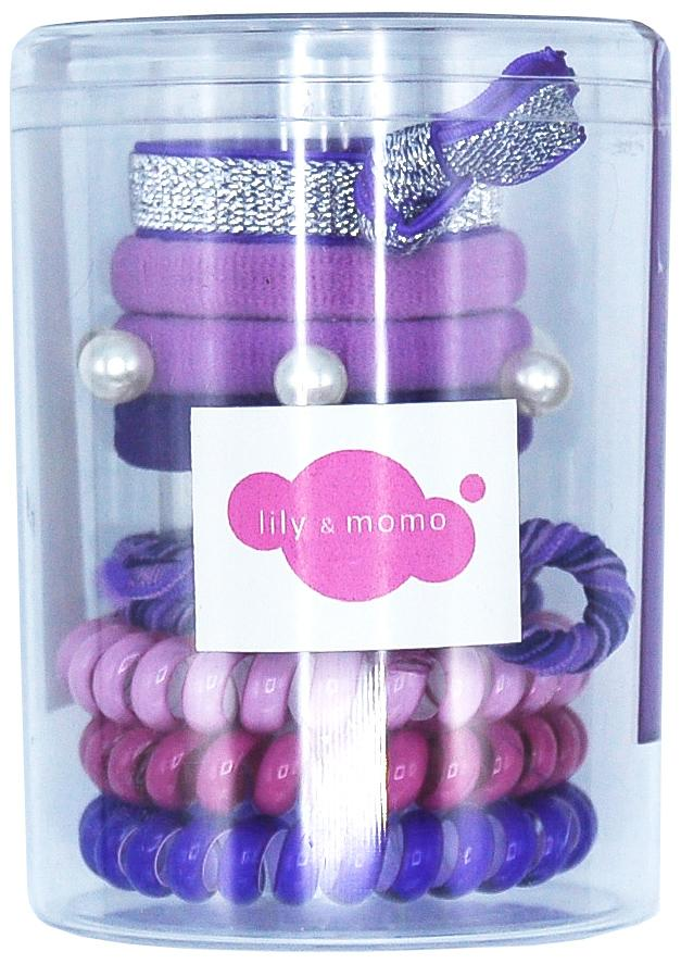 Hair Ties Color Pop/Purple