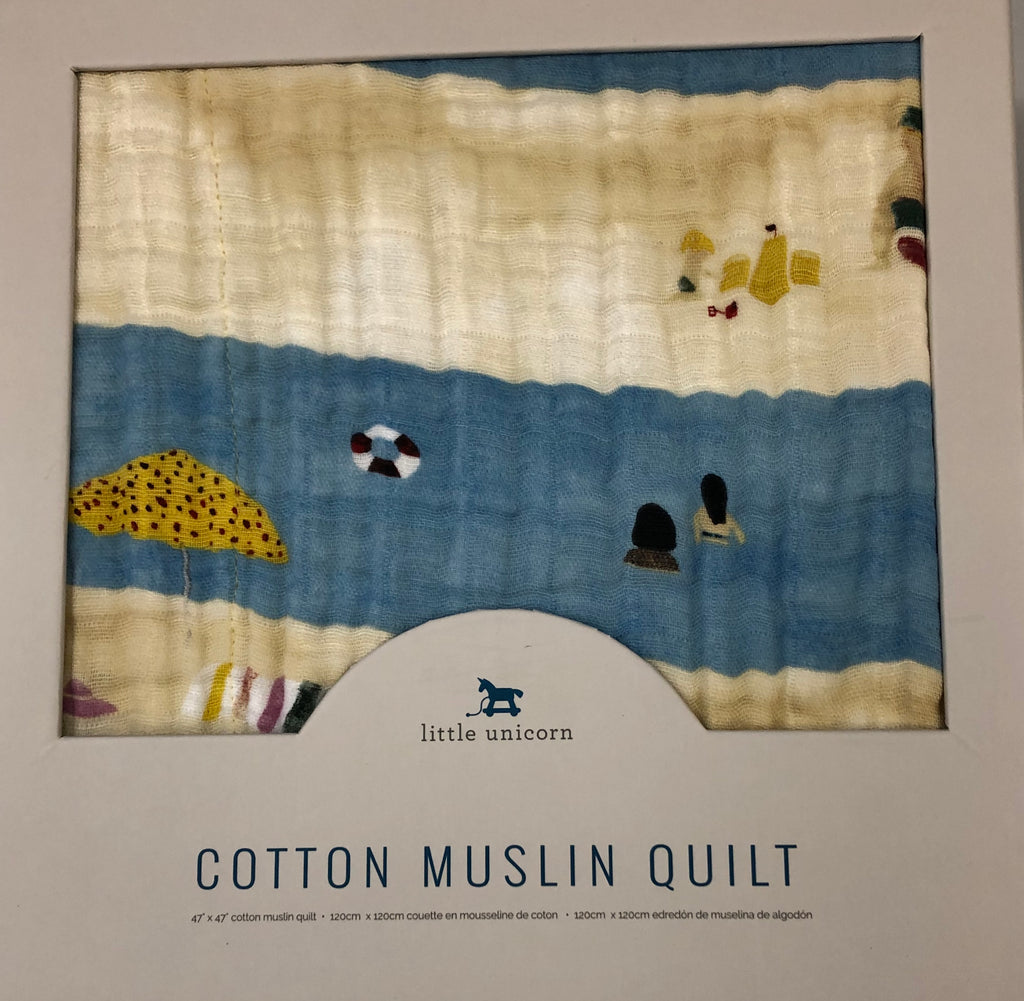 Cotton Muslin Quilt Tan Lines