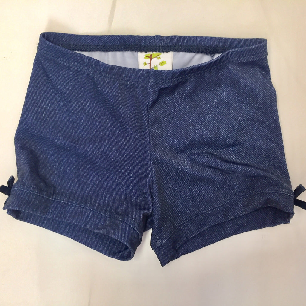 Toddler Girl Denim Spandex shorts