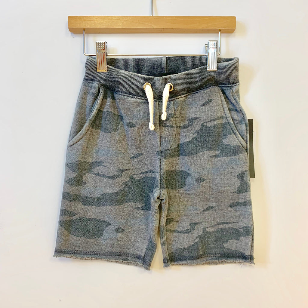 Camo Sweat Short
