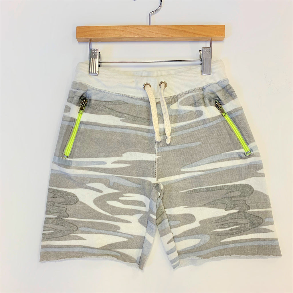 Burnout Camo Sweat Short