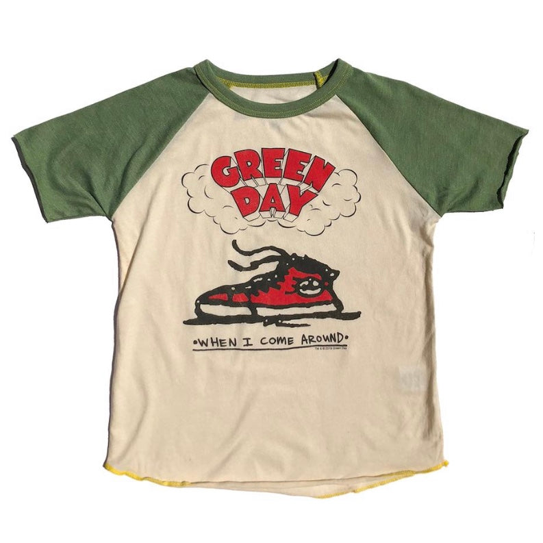 Green Day S/S Raglan Tee