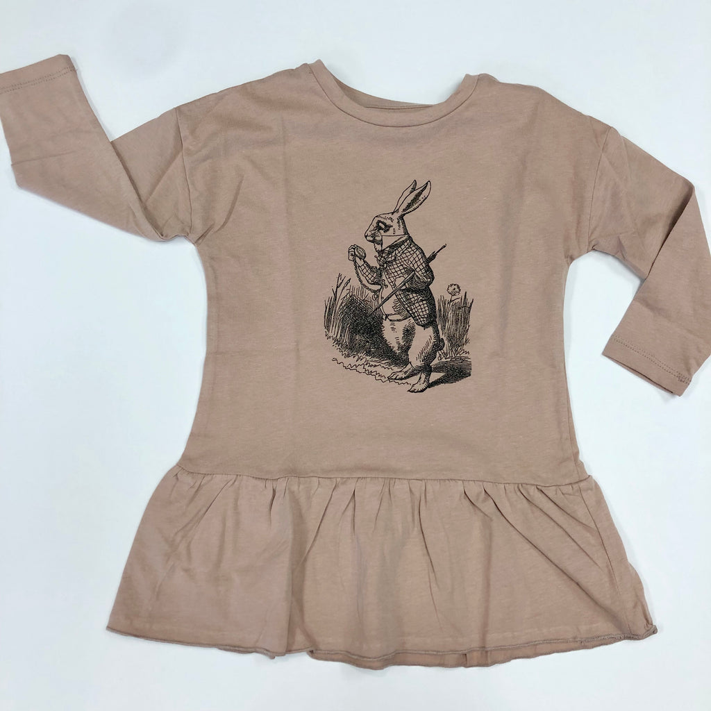 Oversized Tunic/Blush Dancing Elephant