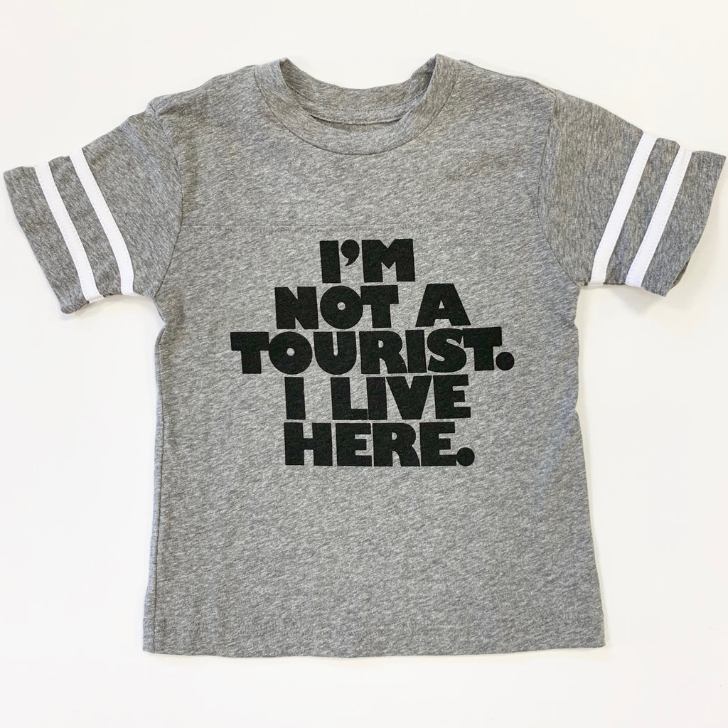 Not a Tourist Ringer Tee