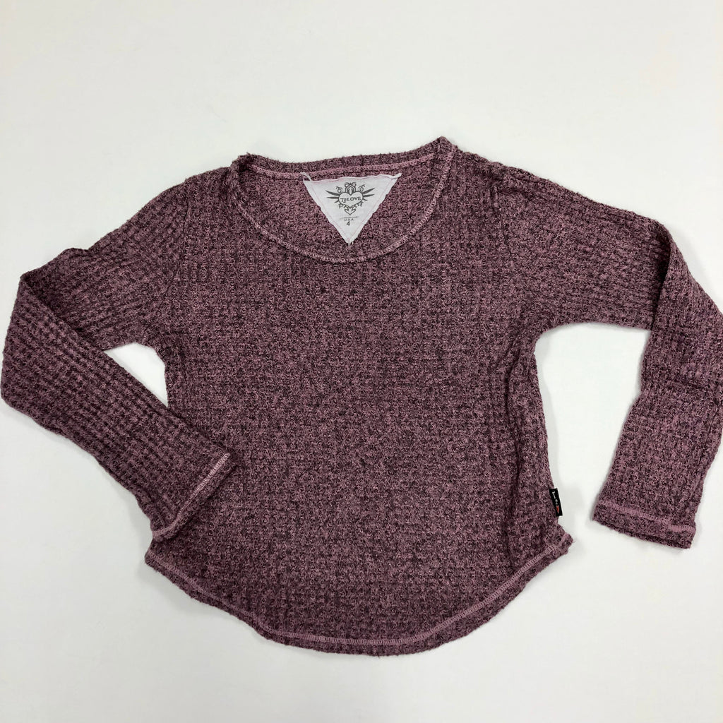 Long-Sleeve Crew Sweater
