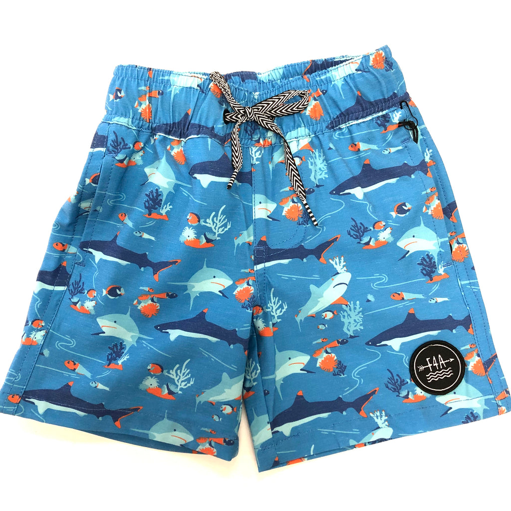 Under The Sea Volley Trunk