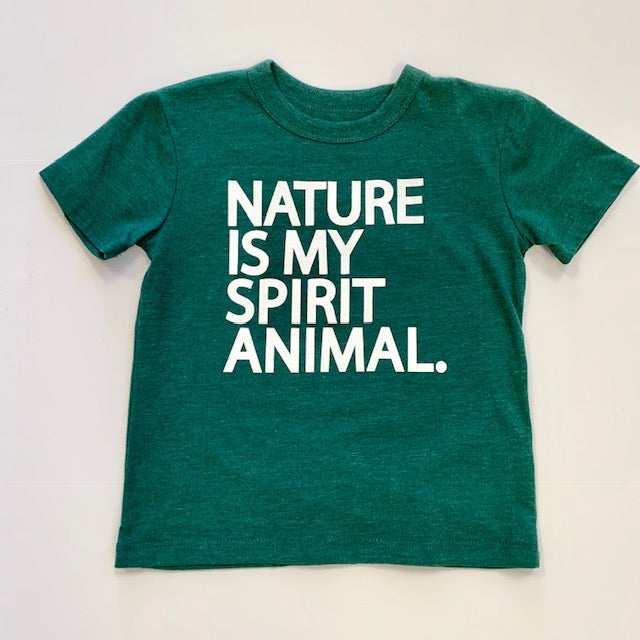 Nature Is My Spirit Animal Graphic Tshirt