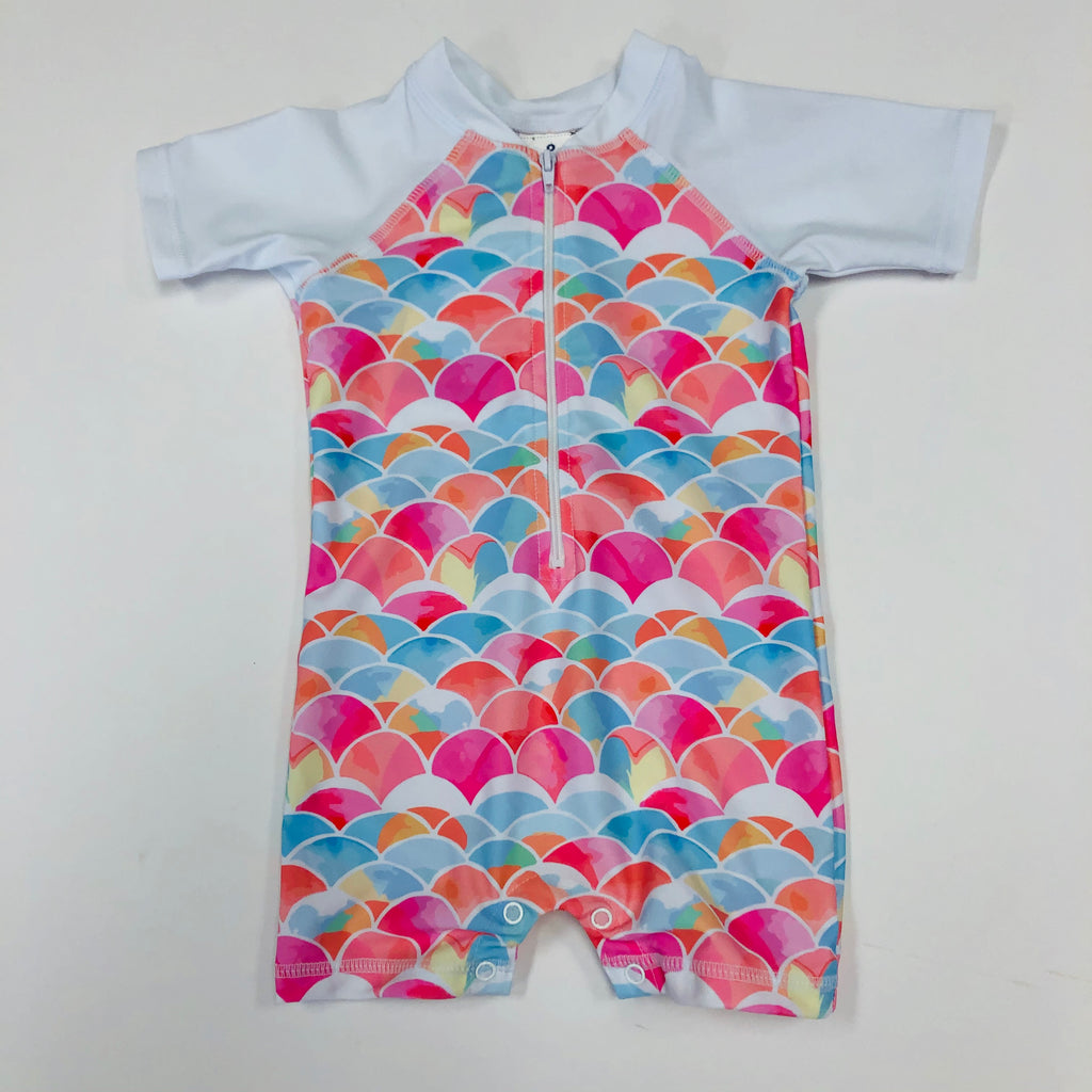 Rainbow Sunsuit UPF50