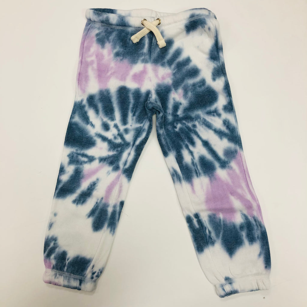 Blue and Purple Tie Dye Jogger Pant