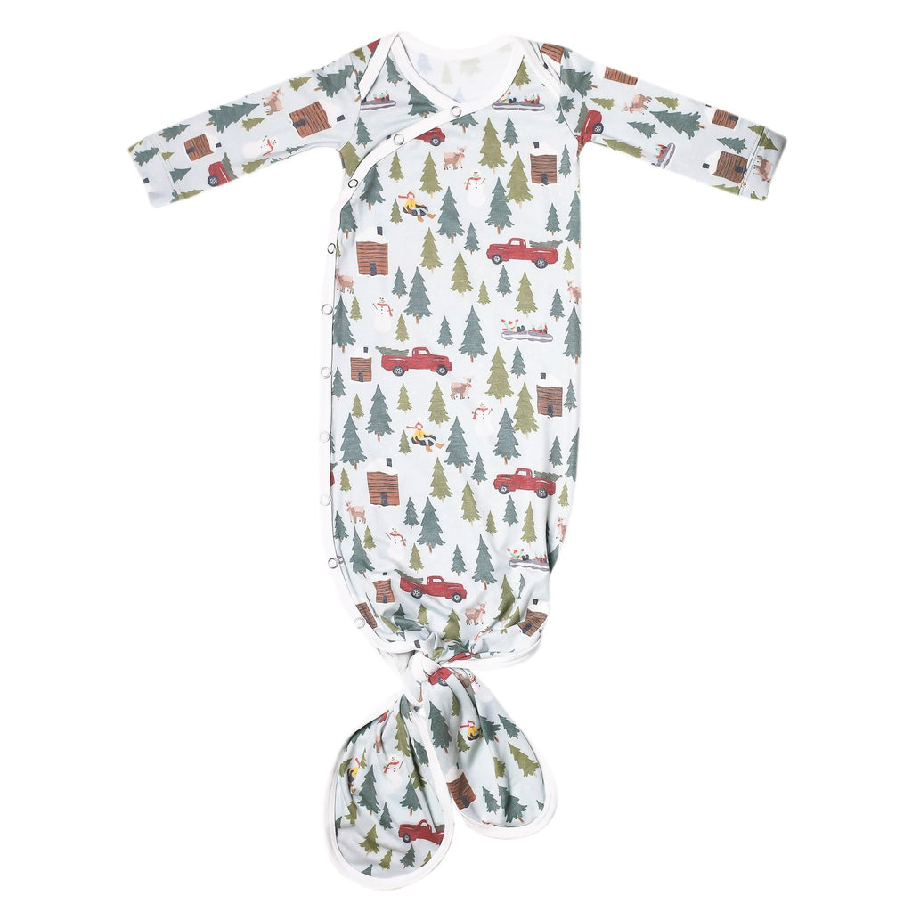 Knottted Baby Gown/ Kringle